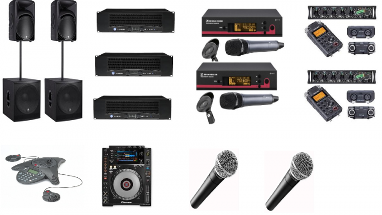 Audio Equipment Hire London