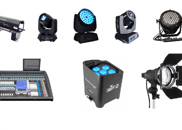 Lighting Equipment Hire London